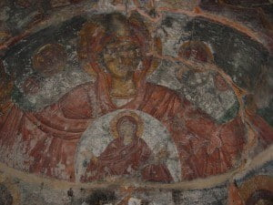 Besides the more popular Bronze Age sites, there is also an extensive body of Byzantine Art in Crete, including numerous frescoes in the many churches and monasteries.