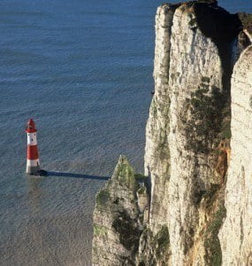 Beachy Head, the eastern-most end point of the South Downs Way. © Countryside Agency