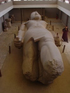The Colossus of Ramses II, Originally 13 Metres High, Memphis