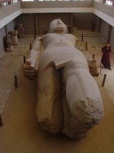 The Colossus of Ramses II, Originally 13 Metres High, Memphis