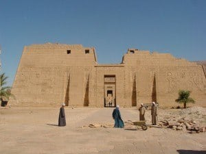 The Temple of Ramses III, West Bank, Luxor