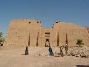 The Temple of Ramses III, West Bank, Luxor
