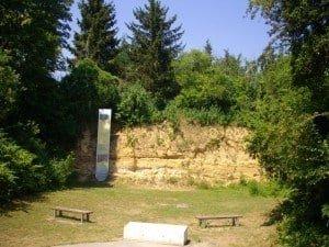 River Gravels Stratigraphy, Jardin Archéologique de Saint-Acheul
