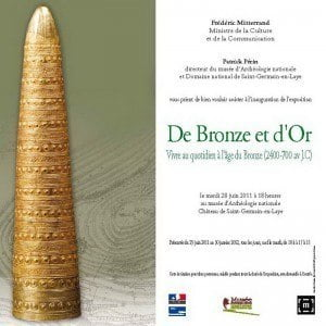Bronze Age Exhibition at the National Archaeology Museum, Paris