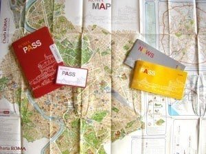 The Roma Pass wallet