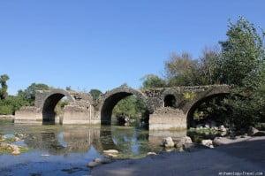 Saint Thibéry Roman Bridge
