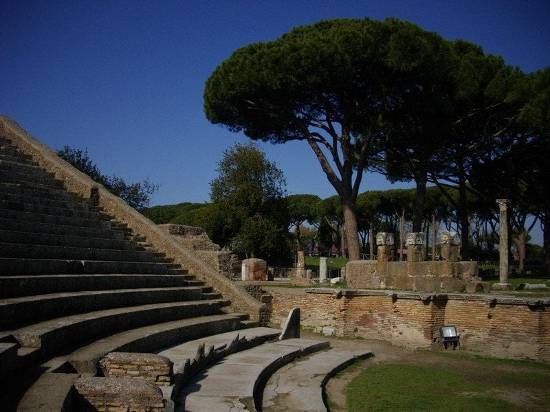 ostia antica how to get there
