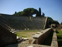 The theatre, thought to be 1st century BC.