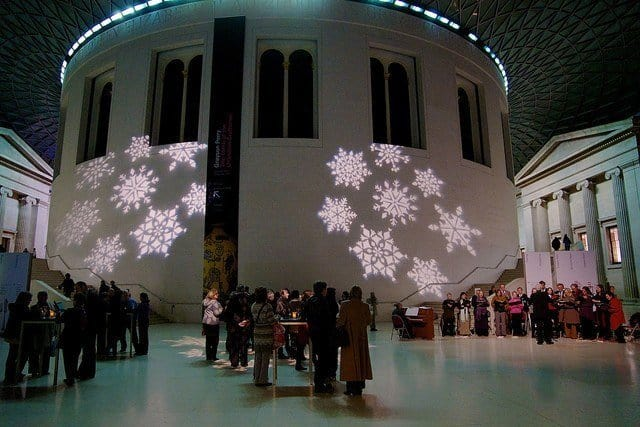 Christmas at the British Museum
