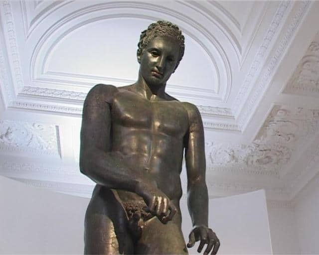 The Croatian Apoxyomenos