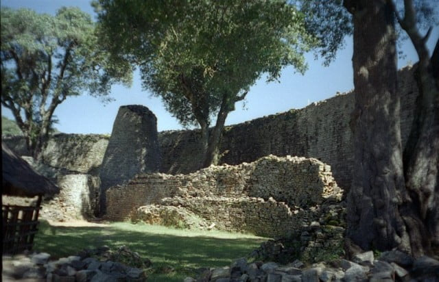 Conical tower at Great Zimbabwe