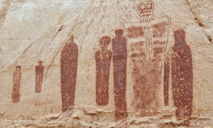 Holy Ghosts in Horseshoe Canyon, Utah's Great Gallery