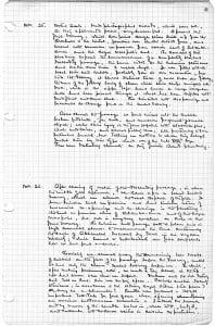 Howard Carter's journal, 26 November 1922