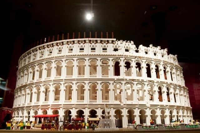 The Colosseum in Lego