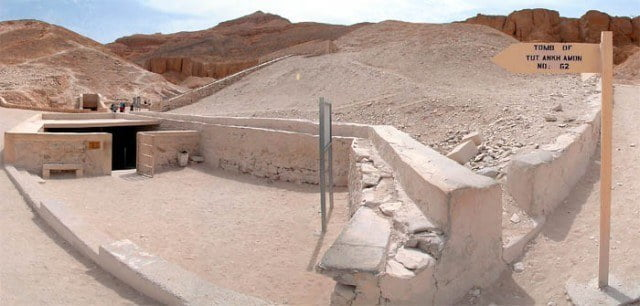 Tutankhamun's tomb in the Valley of the Kings, Luxor