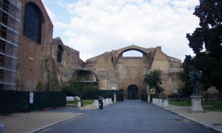 The Cistern of the Baths of Diocletian in Rome Now Open to the Public