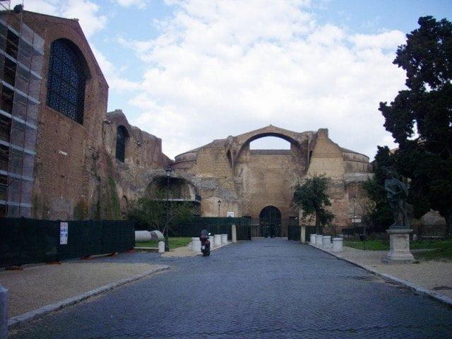 Baths of Diocletian, Palaestrae