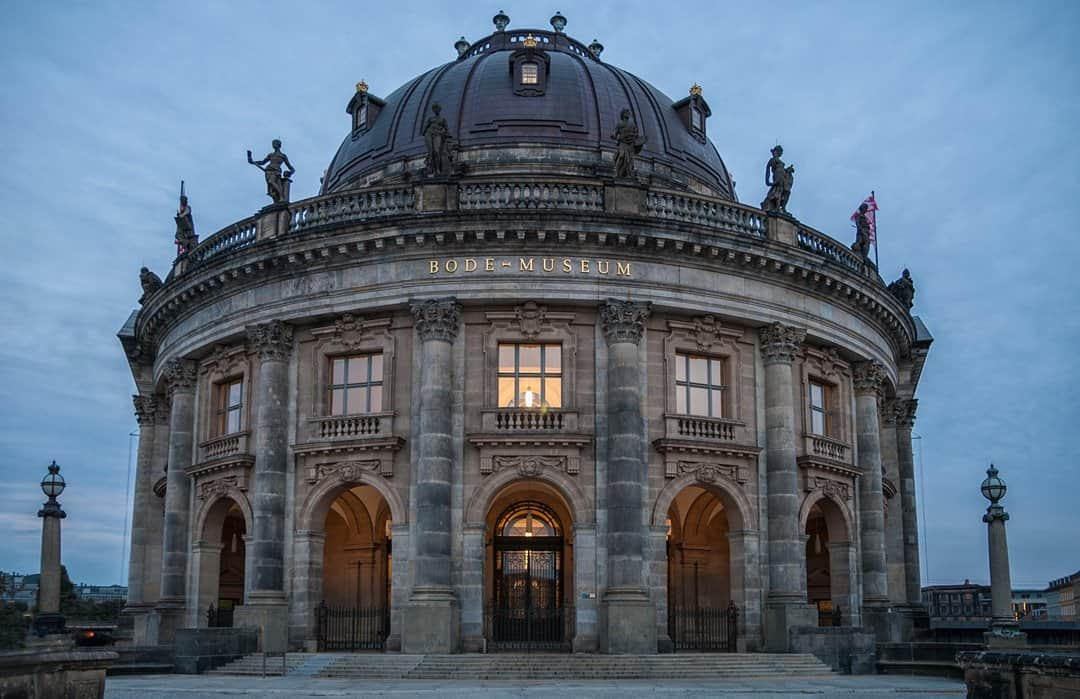 The Great Dome and entrance to the Bode-Museum.