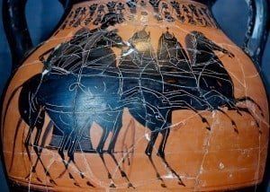 Chariot racing in Greek art