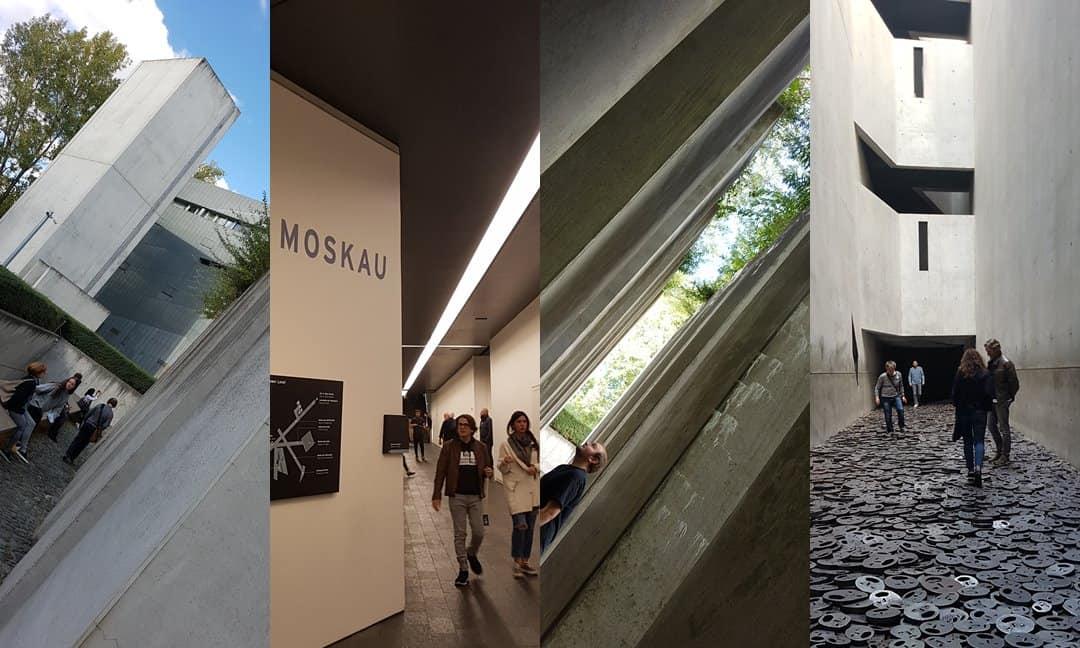Sensory spaces in Daniel Libeskind's Jewish Museum in Berlin.