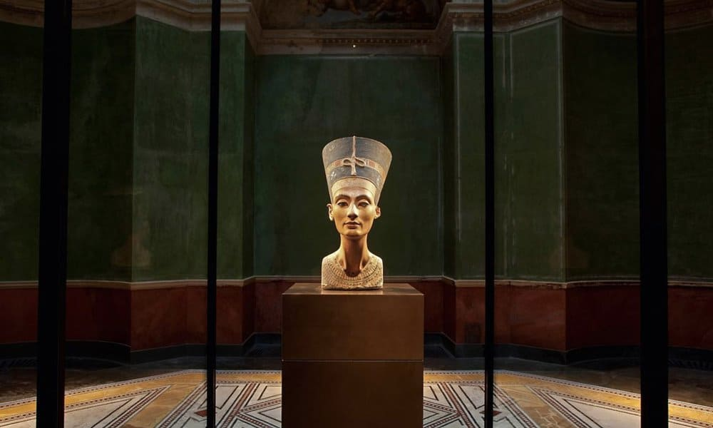 Nefertiti in Berlin's Neues Museum.