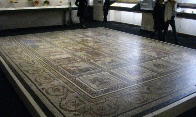 Roman Mosaic from Saint-Romain-en-Gal