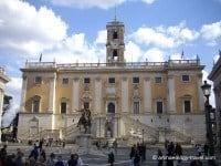 One of the three Capitoline Museums, Palazzo Senatorio