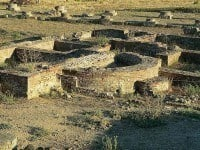 Ruins at the ancient town of Aléria