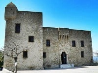 The Genoese fort that houses the museum and its collections.