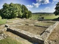 Foundations of the villa near Dehlingen