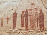 Holy ghost panel in Horseshoe Canyon, Utah