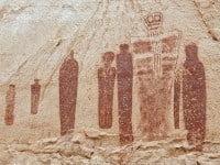 Holy ghost panel in Horseshoe Canyon, Utah