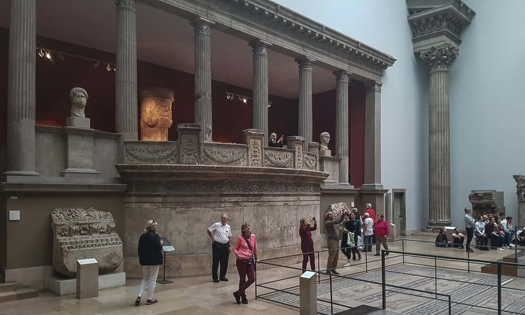 Archaeology Travel   The Market Gate from Miletus in the Pergamon Museum   7