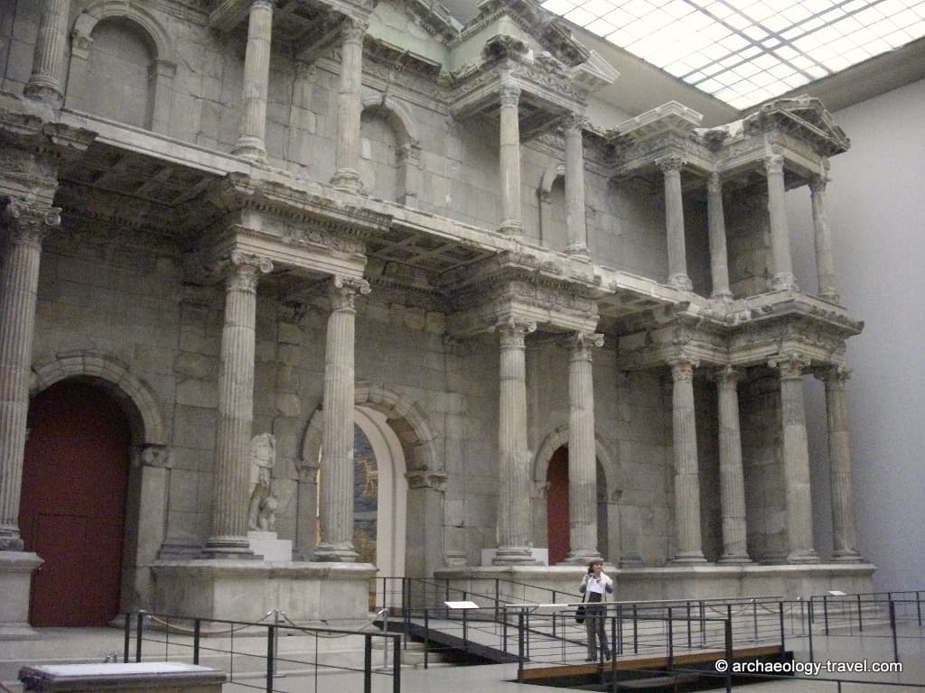 Market Gate from Miletus in the Pergamon Museum
