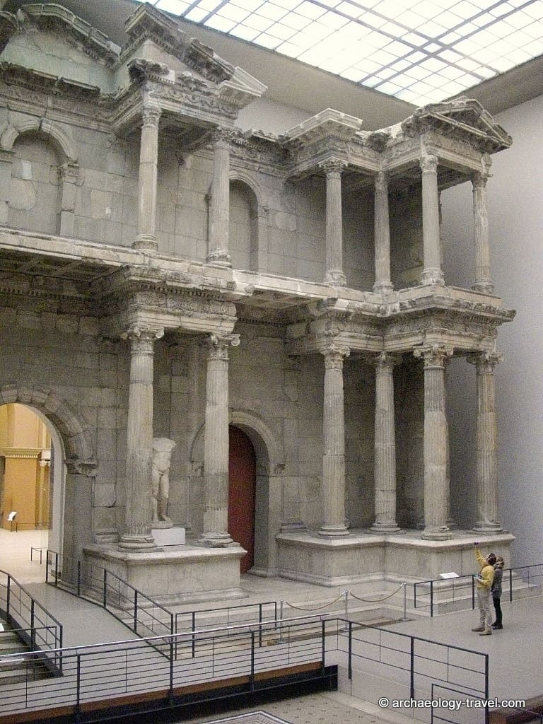 The right hand section of the Miletus market gate