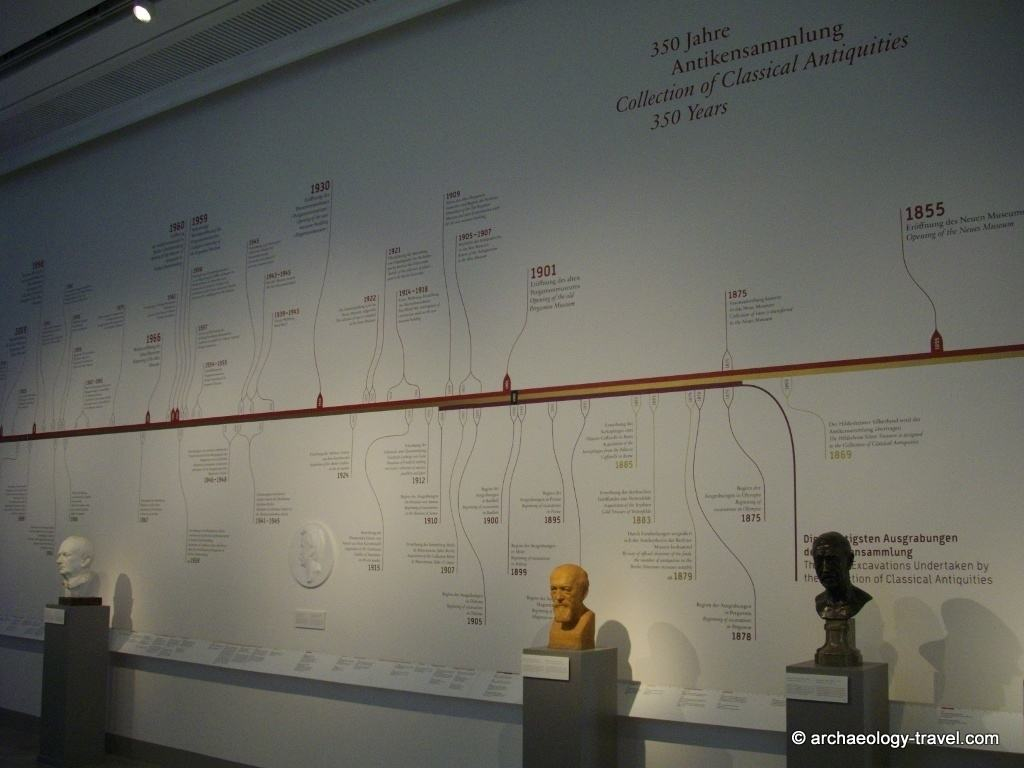 350 Years of collecting Classical antiquities at the Altes Museum in Berlin, a timeline