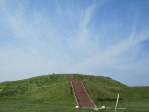 Monks Mound at Cahokia Mounds State Historical Site