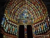 Amiens Cathedral 'en couleur'