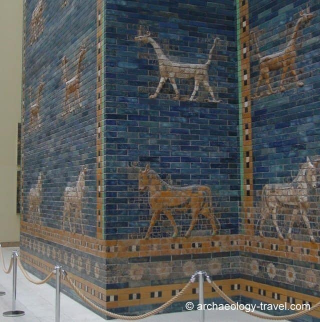 Dragons and Aurochs on the Ishtar Gate