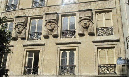 Ancient Egypt on the Streets of Paris