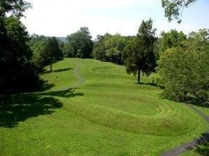 Serpent Mound near Peebles, Ohio