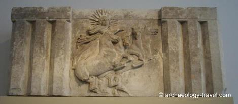Metope from the Temple of Athena in Troy, Altes Museum