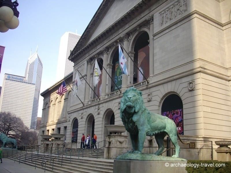 a report from a visit to the art institute in chicago The art institute of chicago has one of the finest collections of art that has enlightened and strengthened my understanding in my personal art experience the museum itself is an artistic architectural structure that graces michigan avenue in chicago illinois entering inside, i sensed myself .