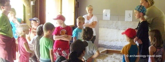 Child friendly archaeological attractions.