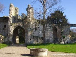 Jumièges Abbey in Normandy, France,