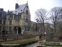 The museum from the Medieval garden.