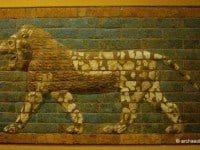 Lion from the processional way leading to the Ishtar Gate