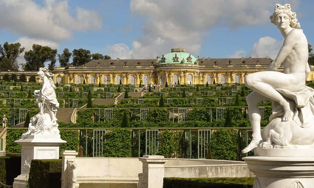 Sanssouci Palace was Frederick the Great's summer residence.
