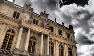 The Palace of Versailles, Paris.