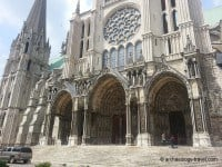 The south portal of Chartres Cathedral.